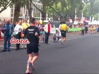Kö-Lauf 2014 - Team RedMatrix Runners