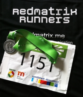 Kö-Lauf 2014 - Team RedMatrix Runners