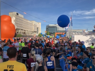 Luxemburg Marathon - Start