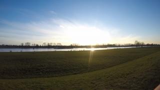 Rhein am Abend