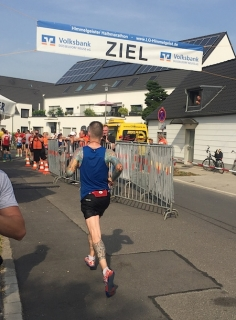 12. Himmelgeist Halbmarathon 2015 (Ziel)